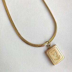 Vintage Gucci charm necklace vintage gold chain